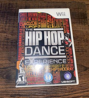 Wii Hip Hop Dance for Sale in Rialto, CA