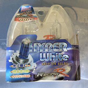 hyper white hrypton bulbs for Sale in Gilroy, CA