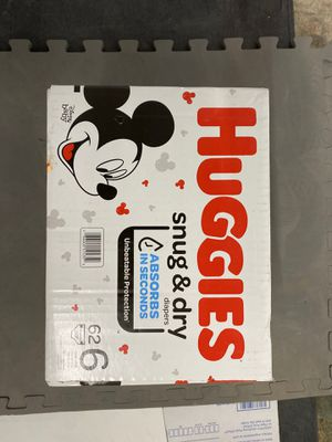 Huggies snug and dry size 6 (62 count) for Sale in Richmond, VA