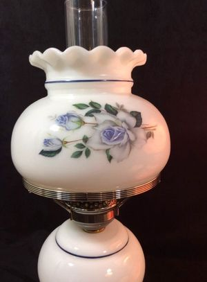 Vintage antique hurricane lamp shabby chic for Sale in Seattle, WA