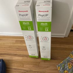 Two (2) HVAC Filters - Honeywell PopUP 20x25 for Sale in Salt Lake City,  UT
