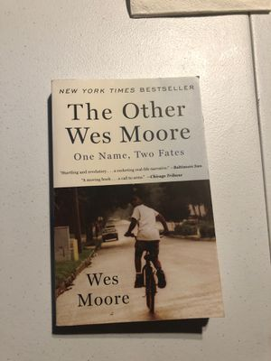 The Other Wes Moore by Wes Moore for Sale in Fullerton, CA