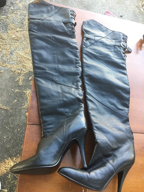 Thigh high boots size 7