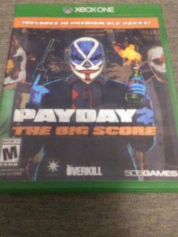 Payday 2 The Big Score for Sale in Fairmont,  WV