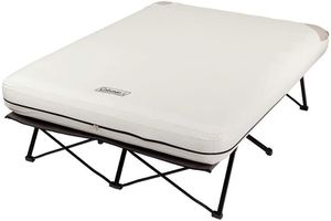 QUEEN Coleman Camping Cot, Air Mattress & Pump Combo Folding Cot for Sale in Henderson, NV