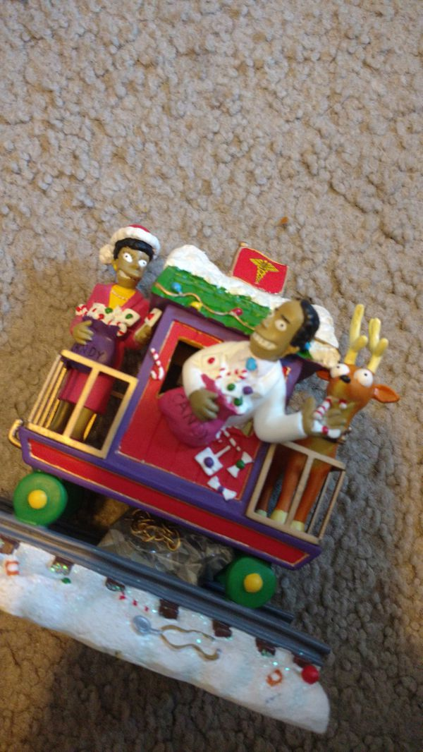 Simpsons Christmas train Christmas express collection