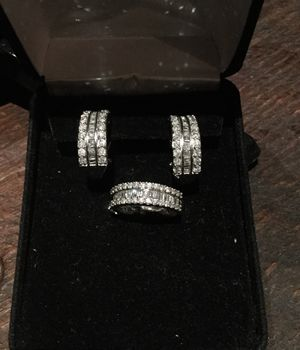 Wedding ring and Earrings set for Sale in Dublin, OH
