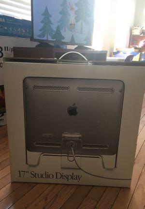 Apple 17 studio display monitor for Sale in Herndon, VA