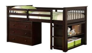 New Bunk bed Espresso finish for Sale in Puyallup, WA