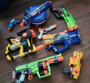 Nerf gun lot for Sale in Tacoma, WA