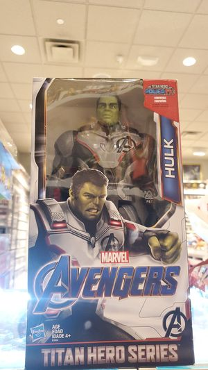 HULK (TITAN HERO SERIES) FIGURE (MARVEL AVENGERS) for Sale in Glendale, CA