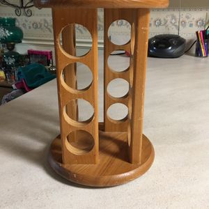 Spinning Wood Spice Rack for Sale in Milton, FL