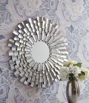 NEW, Zelenak Silver Finish Accent Mirror, SKU# a8010164 for Sale in Huntington Beach, CA