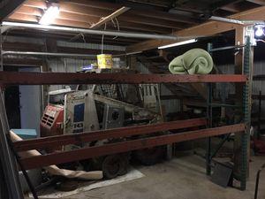 """Pallet rack metal shelf 126""""w 28""""d 90""""h for Sale in Renton, WA"""