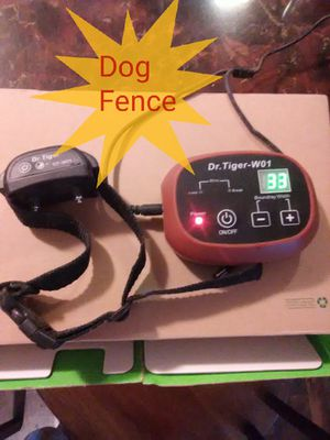 Underground dog fence and collar for Sale in Rolla, MO