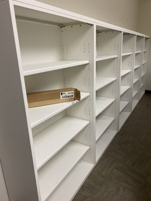 Steelcase white bookcases for Sale in Orlando, FL