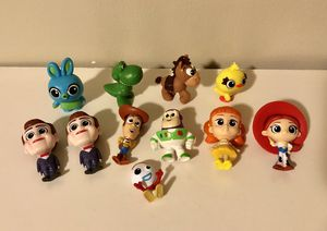 Collectible Toy Story 4 mini figures (11pack) for Sale in Los Angeles, CA