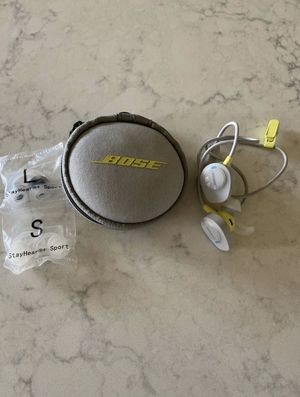 Bose Sound Sport ear buds for Sale in Gilbert, AZ