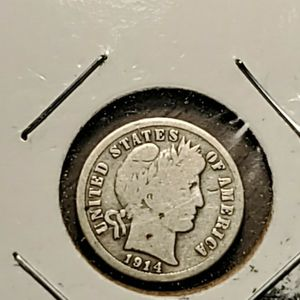 1914 S So Silver Barbara Dime for Sale in Sebring, FL