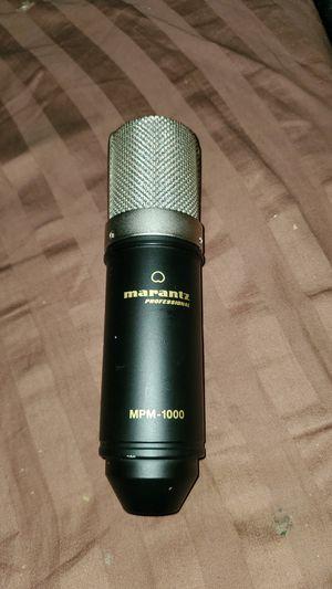 MARANTZ PROFESSIONAL CONDENSER MICROPHONE MPM-1000 for Sale in Escondido, CA