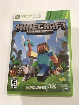 Minecraft Xbox 360 Edition - Tested 5/26 ✔️ Boxed No Manual awesome game for Sale in Huntington Beach, CA
