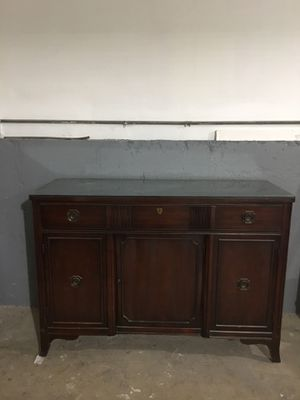 Antique Buffet/ Side Table for Sale in Bolingbrook, IL