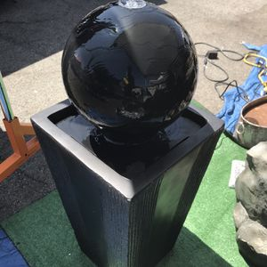 Sphere Water Fountain for Sale in Commerce, CA