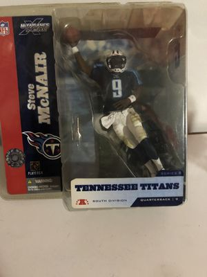 Steve McNair Macfarlane action figure! for Sale in Odenton, MD