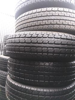 Trailer Tires Pairs And Singles! 40each With Labor for Sale in Escondido,  CA