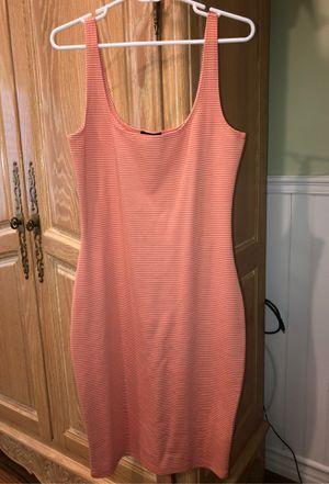 Cotton On- Orange and White striped dress (Size XL) for Sale in Glendora, CA