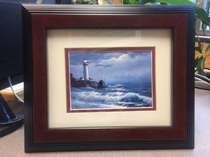 Two smaller ocean pictures for Sale in Dickinson, ND