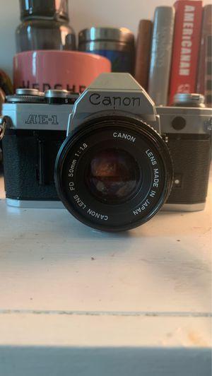 Canon AE-1 program 35mm camera for Sale in Gunpowder, MD