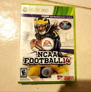 NCAA Football 14 2014 college xbox 360 game for Sale in Grapevine, TX