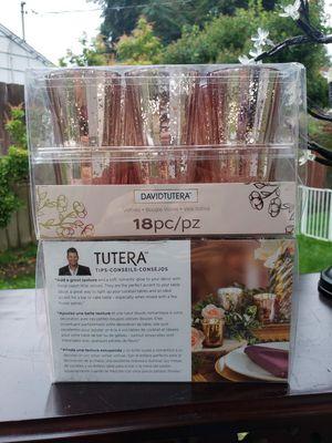 2 for $45 David Tutera™ Mercury Glass Votive, Rose Gold for Sale in Everett, WA