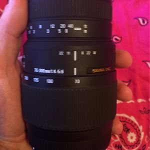 Cannon Camera Lenses 70-300mm for Sale in Manteca, CA