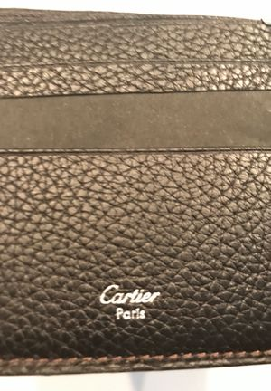 Cartier Wallet - Brand New - Genuine Leather for Sale in Atlanta, GA