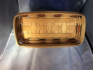 Longaberger bread basket for Sale in Waltham, MA