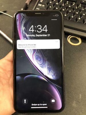 Factory unlocked iPhone XR 64gb store warranty for Sale in Revere, MA