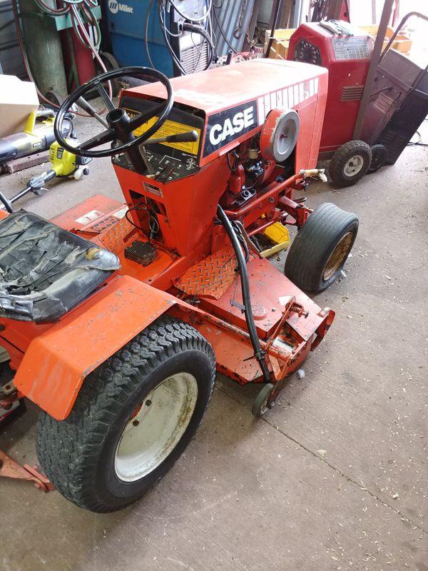 Garden tractor case 222