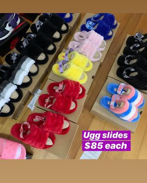 Ugg Slides Brand New Never Worn. ( All sizes on demand - Sizes Small/Xl ( 6.5/11) for Sale in Quincy, IL