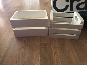 Wooden boxes for Sale in Tempe, AZ