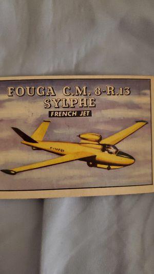 1952 Topps wings Friend or Foe plane card for Sale in Riverview, FL