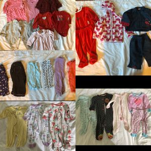 6 month baby girl winter clothes lot for Sale in Virginia Beach, VA