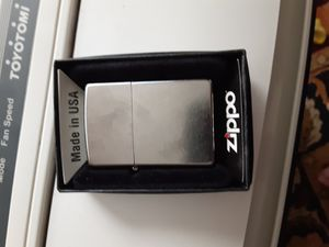 Brushed stainless steel Zippo. MADE IN THE U.S.A. for Sale in Rowlett, TX