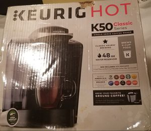 Keurig K50 Classic Series - Singke Serve K Cup for Sale in Washington, DC