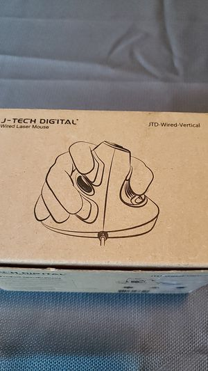 J tech digital wired vertical laser mouse for Sale in Tuscaloosa, AL