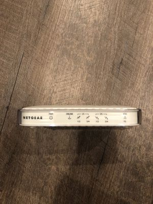 Netgear cable modem CMD31T for Sale in Alexandria, VA