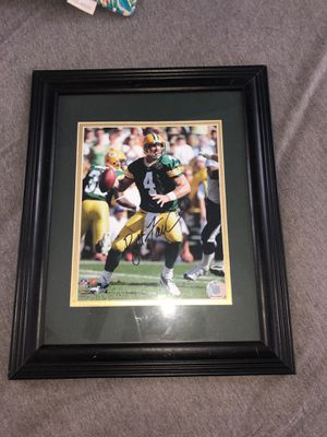 Signed Brett farve picture for Sale in Indian Trail, NC