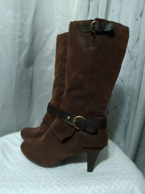 Brown Leather Winter Boots for Sale in Federal Way, WA