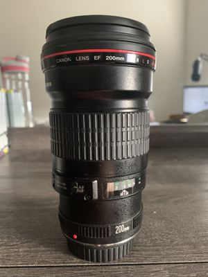 Canon EF Telephoto 200mm F/2.8 II Lens for Sale in Fort Lauderdale, FL